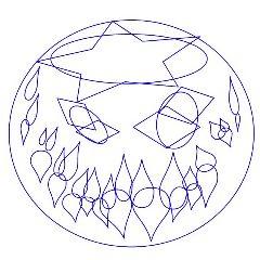 freetoedit coloringpage blueandwhite halloween fun