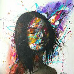art artist canvas acrylics acrylic
