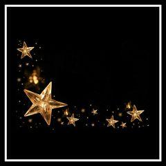 remixed freetoedit gold golden stars