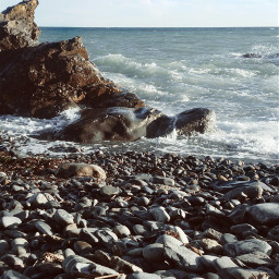 sea rough stones myphoto myphotography nofilter noeffect emotions love