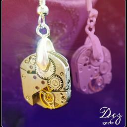 steampunk steampunkart steampunkjewelry steampunkjewellery earringsdesign
