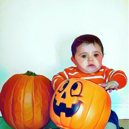 magic flare baby pumpkin october2016