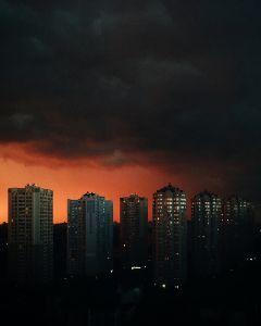 wppsky autumn sky sunset sundown