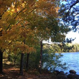 fallcolors nature lake photography