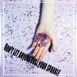 freetoedit remix flowers sparkles