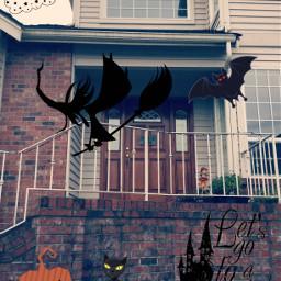 halloween freetoedit spooky witch pumpkin