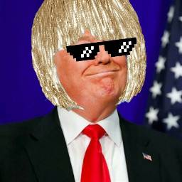 blondhair donaldtrump trump thuglife america freetoedit