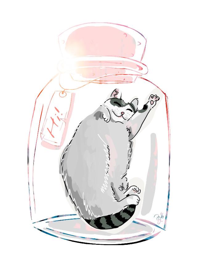 #FreeToEdit #Cat #Art #Siendoyomisma #Tengocreatividad @pa #lovely