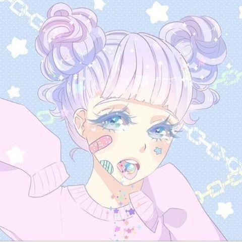 I'm A Goner. 💫 Aesthetic Pastel Anime AnimeGirl Manga