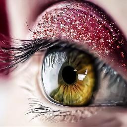 macro eyes photography madewithpicsart