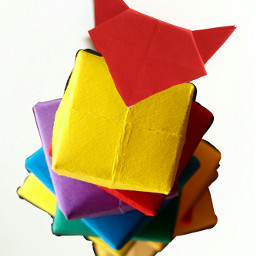 freetoedit remixme origami fox foxhead