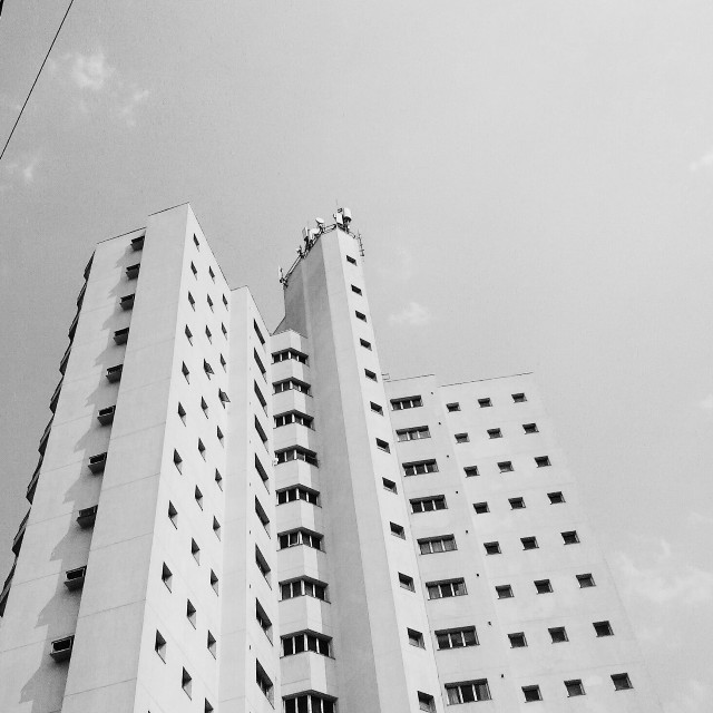 60K !!!!! THANK YOU SO MUCH !!!!!! ;D #blackandwhite  #photography  #urban #building #windows #minimalism #architecture