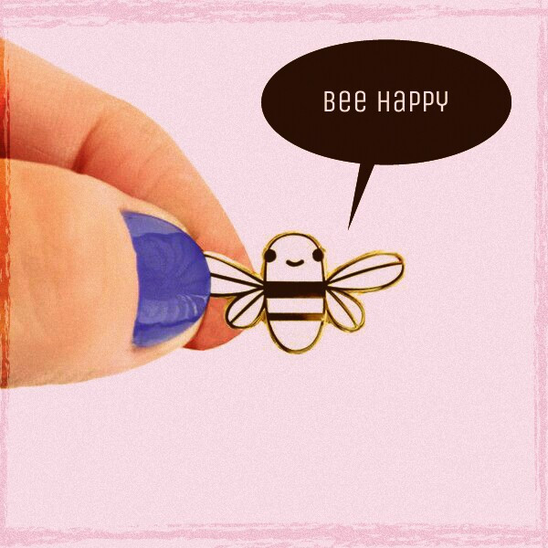 Bee Happy #FreeToEdit  #bee