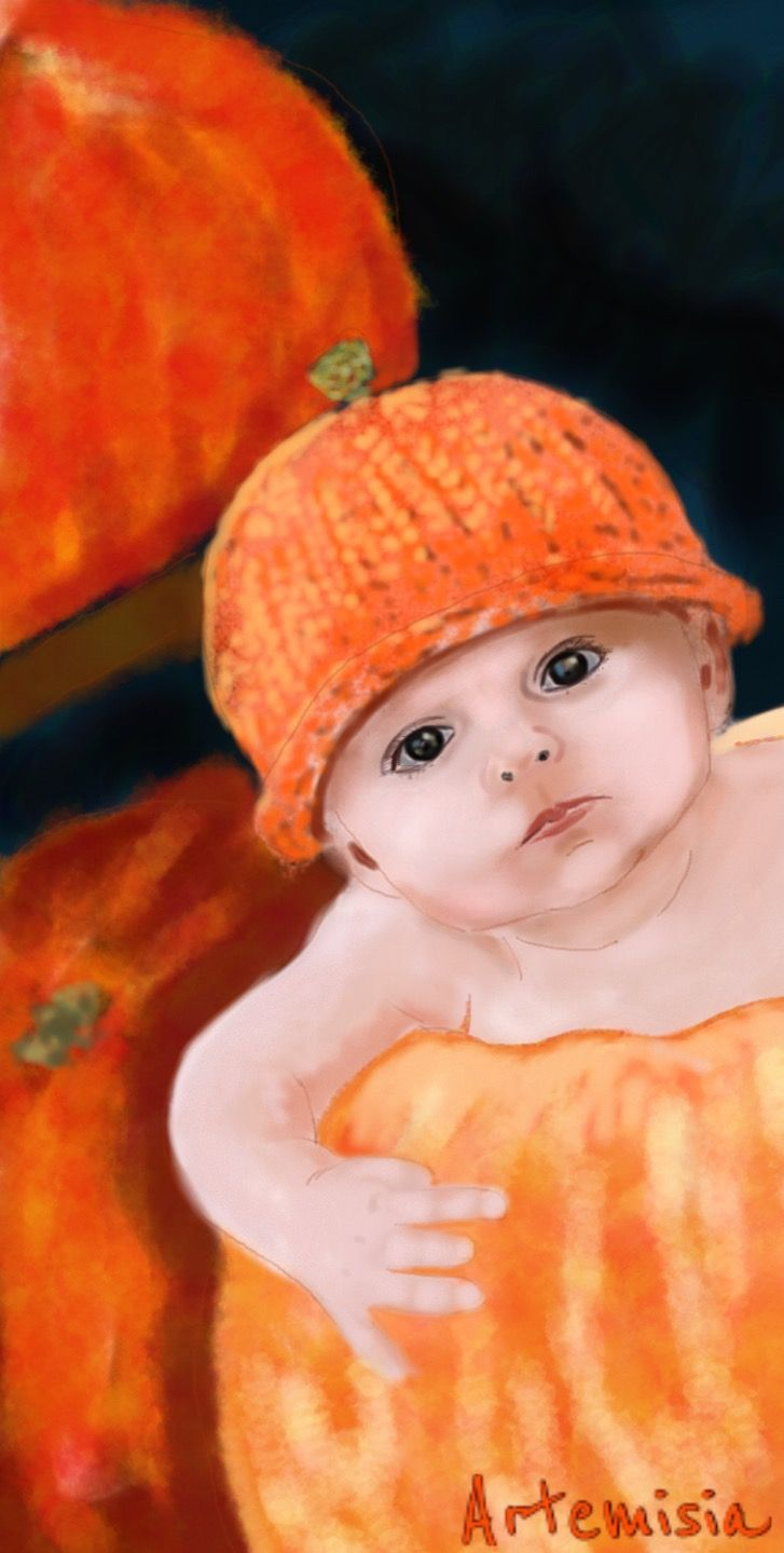 #wdppumpkin #drawing #baby #cute
