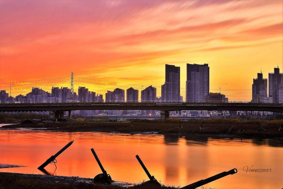 SORAE #sorae  #incheoncity  #southkorea  #vennzaar  #sunset  #cityscape