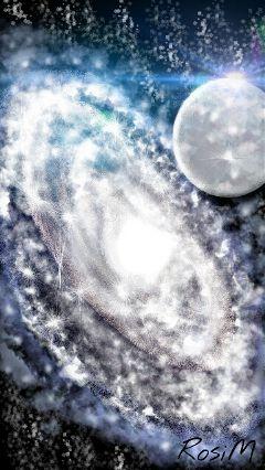 galactic blue stars universe wdpgalaxy