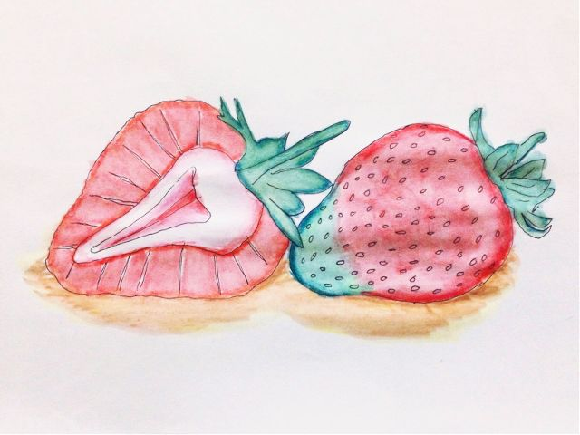 #freetoedit,#art,#interesting,#strawberry,#red